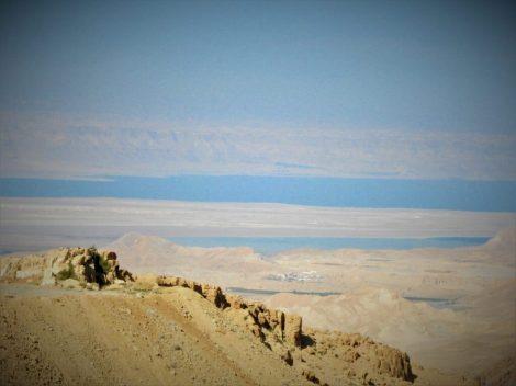 Pogled prema Mrtvom moru i Izraelu (foto TRIS/G. ŠIMAC)
