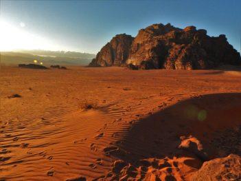 Crveni pijesak je još crveniji uživo (foto TRIS/G. ŠIMAC)