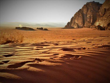 Pustinja pred zalazak sunca (foto TRIS/G. ŠIMAC)