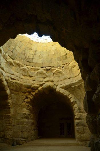 Dvorane u utvrdi Karak (foto J. Gracin)