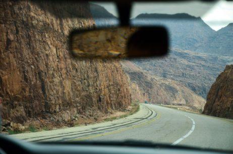 Mrtvomorskom cestom na putu prema jugu (foto J. Gracin)