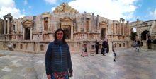 Nina u ljepoti antičkog amfiteatra u Gerasi (foto Jordanac