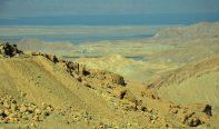 Pogled s Moapskog gorja prema Mrtvom moru (foto J. Gracin)