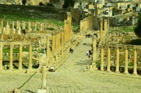 Rimski forum i ulica Cardo Maximus- Gerasa(foto J. Gracin)