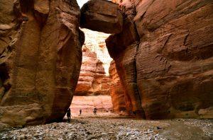 Ulaz u kanjon Wadi Numeira (foto J. Gracin)