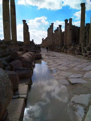 Ulica Cardo Maximus u Gerasi(foto J. Gracin)