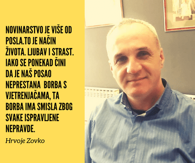 Hrvoje Zovko: Država mora pomoći novinarstvu, inače će ostati spaljena zemlja