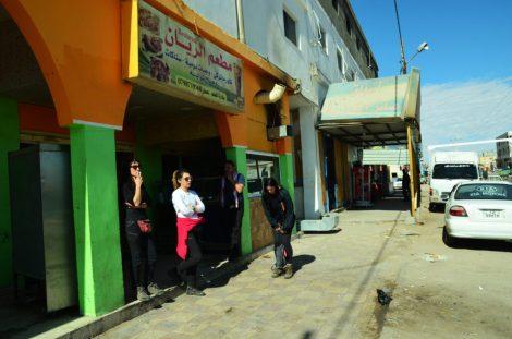 Mali odmor u gradiću Al-Quwayrah (foto Joso Gracin)