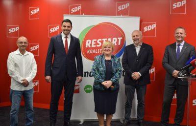 Restart koalicija:SDP, HSS, HSU, Snaga i GLAS 'pravedno, a ne ortački, sa sposobnima, a ne s uhljebima'