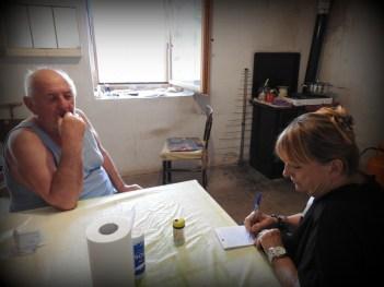 U razgovoru s reporterkom (foto TRIS/G. Šimac)foto TRIS/G. Šimac)
