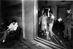 Oštećena Gradska vijećnica ARHIV SD SIBENIK DOMOVINSKI RAT U SIBENIKUGRADSKA VIJECNICA 20.09.1991.FOTO:BOZO VUKICEVIC