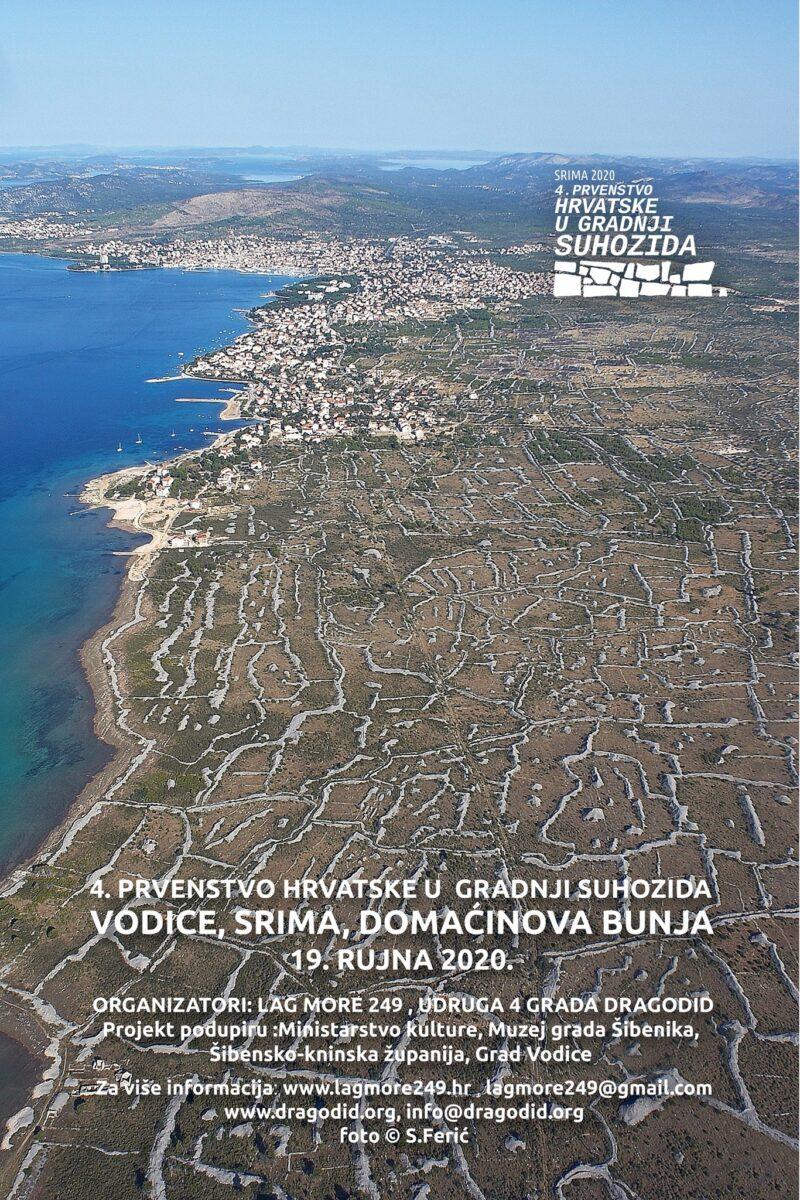 Spektakl sporta i kamenja: 4. Prvenstvo Hrvatske u gradnji suhozida