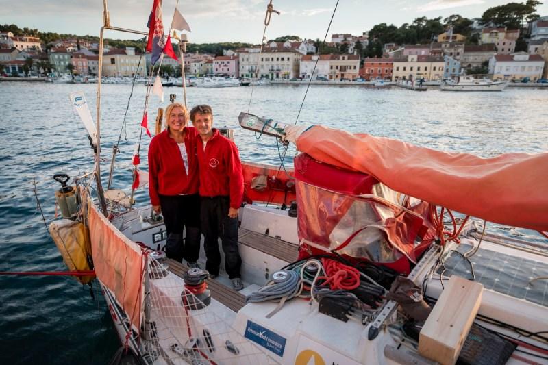 Povratak u Mali Lošinj: Marina i Saša  -foto Ivan Brčić