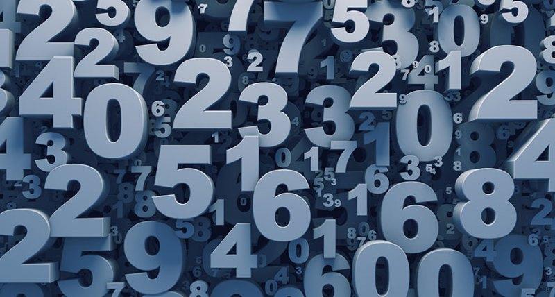 Ilustracija; brojevi