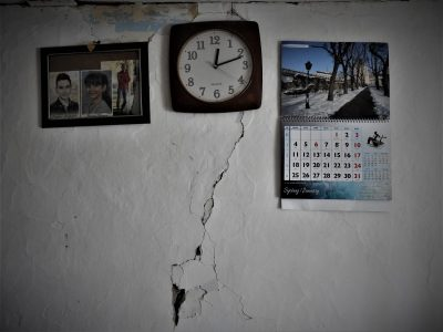 Sat u puknutoj kući je stao -  foto TRIS/G. Šimac