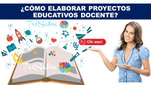 ¿Cómo elaborar proyectos Educativos Docente?