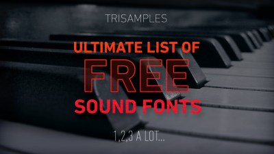 Ultimate list of free soundfonts