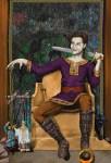 Cover art for Dark Alliance; Morrigan's Brood book III