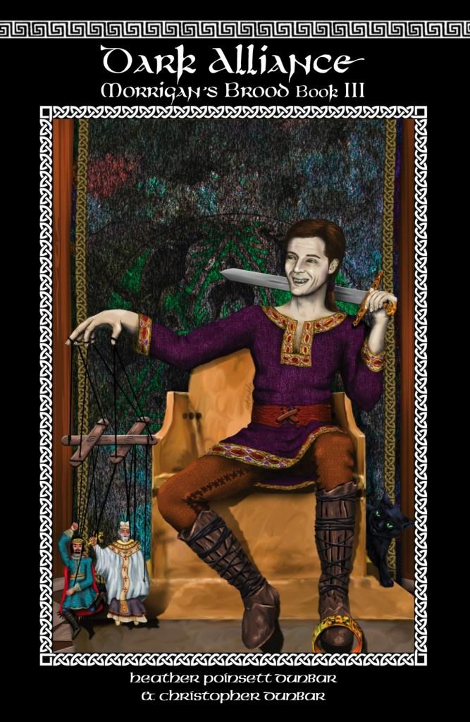 Dark Alliance: Morrigan's Brood Book III Front Cover, by Khanada Taylor