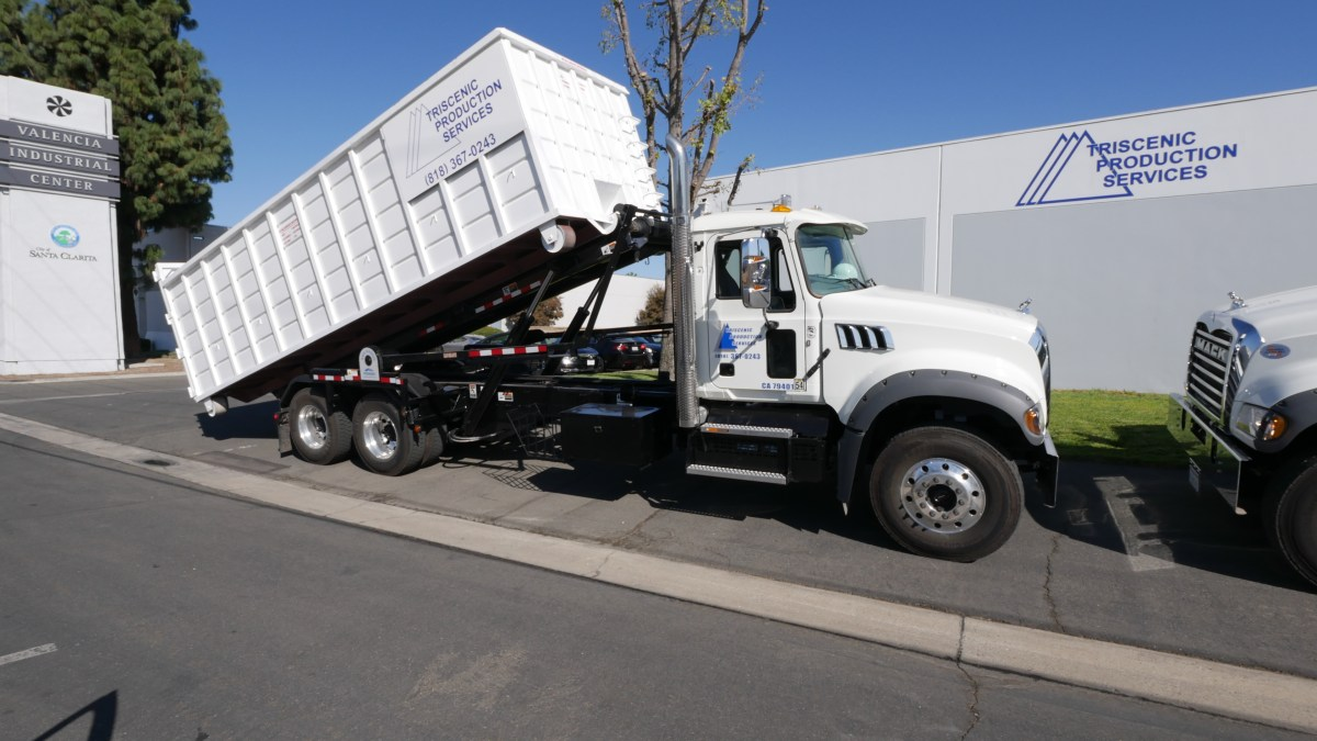 Triscenic Roll-Off Dumpsters