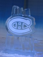 Montreal Canadiens sculpture... CaRMS tour highlight.