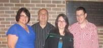 The family at Shingles night.