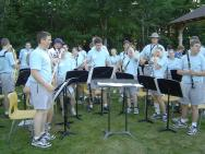 This is the band I taught my first year on staff, in 2003. I sadly have no photos of my 2004 band on my computer.