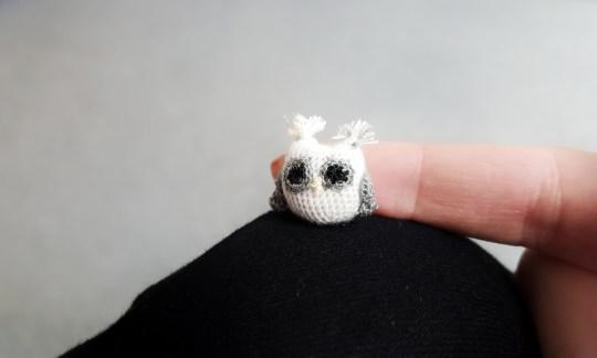 Micro Crocheting For Beginners Micro Crochet Amigurumi Owl