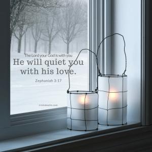 Zephaniah, quiet heart, quiet mind, God is with you, Emmanuel