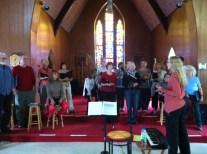 Sutton Gospel Choir rehearsal