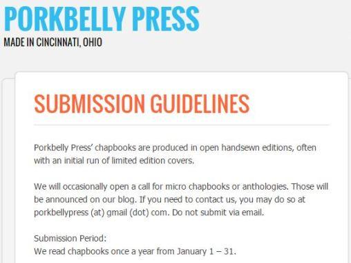 Porkbelly Press