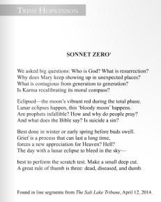 sonnet-zero