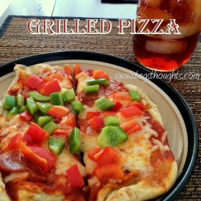 Grilled Pizza; Kid Friendly 30 Minute Meal, TrishSutton.com