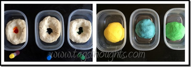 Ten Minute Play Dough; use cookie cutters, rolling pins, toothpicks, & even hot wheels to create, mold, and let your imagination run wild! Fun for all ages! TrishSutton.com