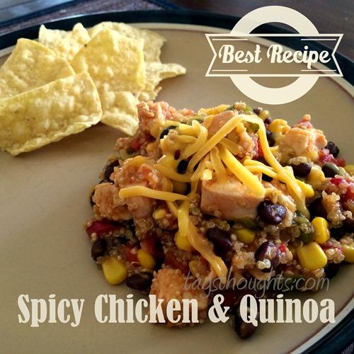 Spicy Chicken & Quinoa