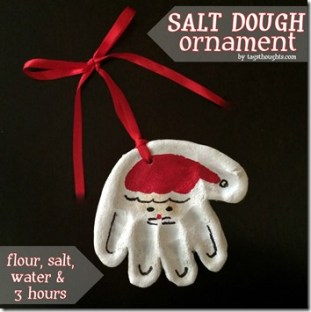 Salt Dough Ornament by trishsutton.com