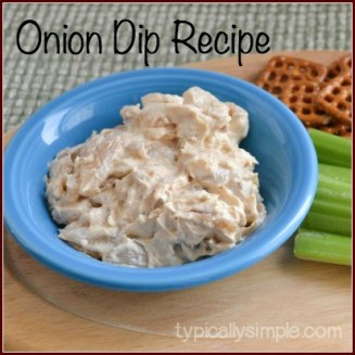 A great appetizer dip to make for parties! Perfect for the Super Bowl!