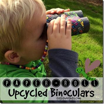 Paper Roll Binoculars by trishsutton.com