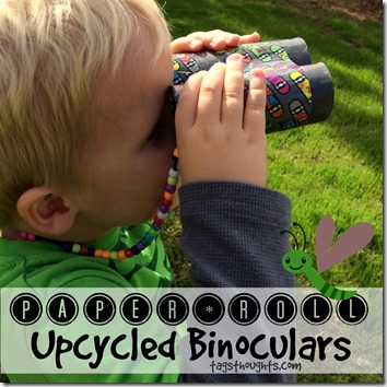 Paper Roll Binoculars by trishsutton.com