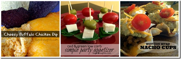 Super Bowl Appetizers by trishsutton.com