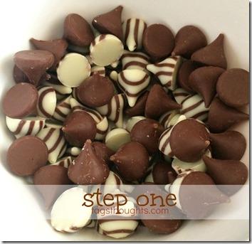 Sweet & Salty Chocolatey Pretzel Snacks by trishsutton.com 1 #hersheys #kisses #hugs #chocolate #pretzels