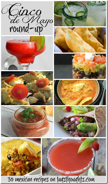 Cinco de Mayo Recipe Round-up by trishsutton.com