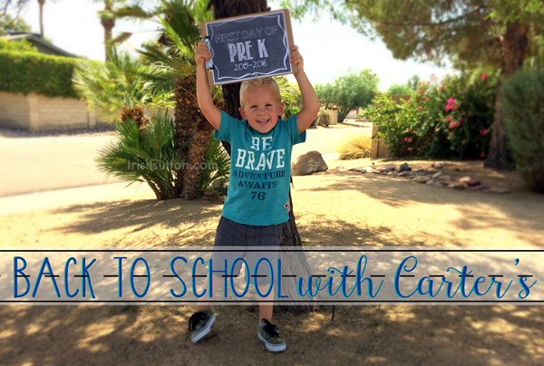 Back-To-School With Carter's; Review, Sales & Coupon