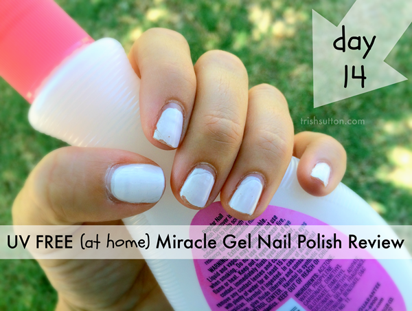 UV Free (At Home) Miracle Gel Nail Polish Review