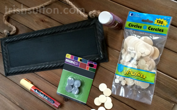 Magnetic Chore Board by TrishSutton.com, Allowance Tracking for Toddlers & Small Children