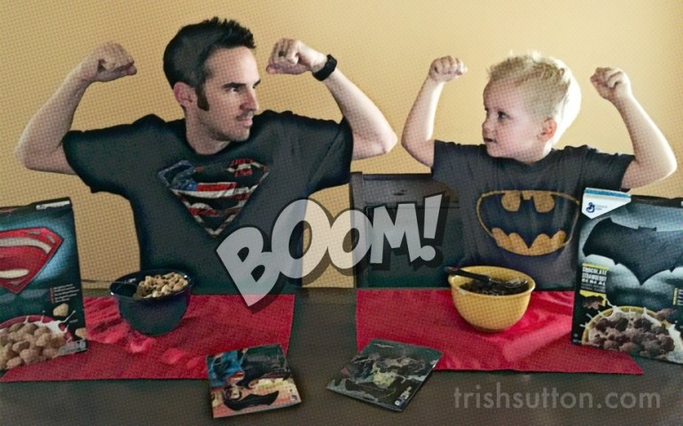 Batman And Superman Save Breakfast With #SuperHeroesCereal