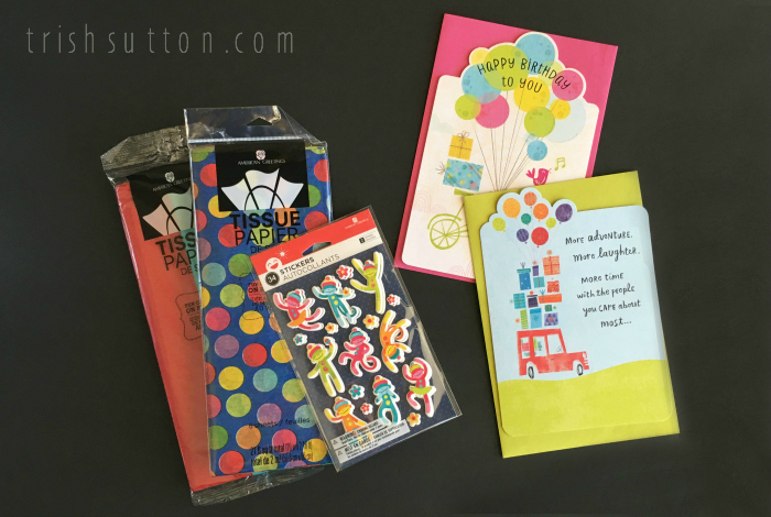 Birthday Month; Three Ways To Celebrate With American Greetings; Cupcake Toppers And Tissue Pom Pom Puffs. TrishSutton.com