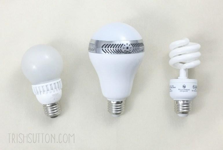 Lightbulb: Loves, Likes and Dislikes. InaRock Bluetooth Smart LED Bulb Giveaway. TrishSutton.com