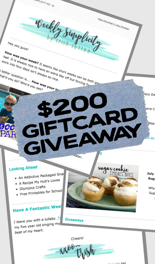 Nordstrom Gift Card Giveaway; TrishSutton.com