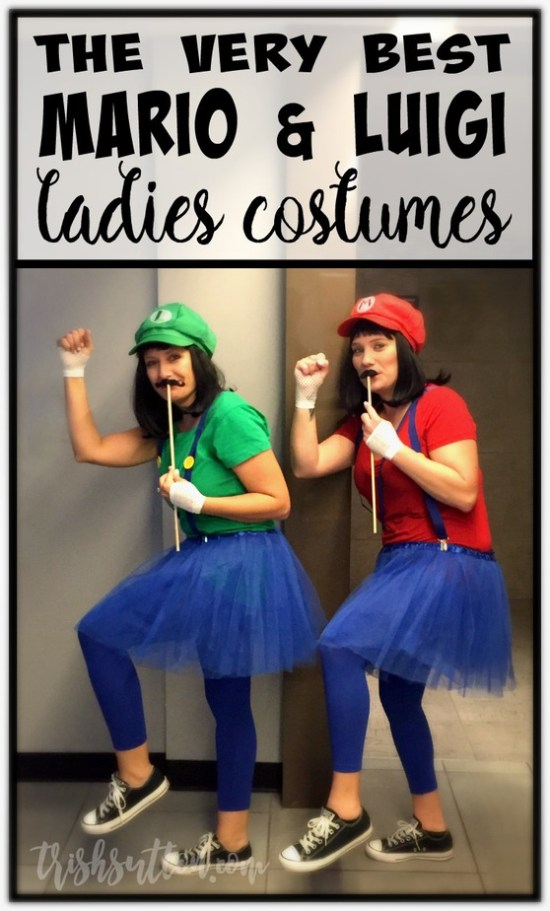 The Best Homemade Mario & Luigi Ladies Halloween Costumes